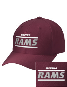 Merino Elementary School Rams Embroidered Wool Adjustable Cap