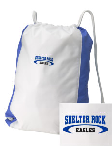 Shelter Rock Elementary School Eagles Embroidered Holloway Home and Away Cinch Bag
