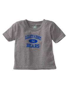 Elizabeth M Bennet Middle School Bears Baby T-Shirt