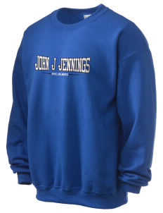 John J Jennings Elementary School Bears Ultra Blend 50/50 Crewneck Sweatshirt