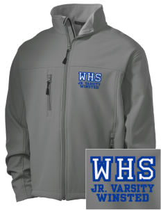 Winchester Alternative High School Winsted Embroidered Men's Soft Shell Jacket