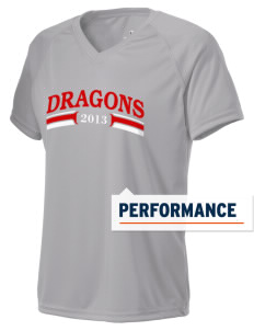 William Seely Elementary School Dragons Holloway Women's Zoom Performance T-Shirt