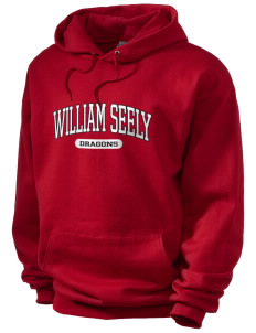 William Seely Elementary School Dragons Men's Hooded Sweatshirt