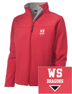 William Seely Elementary School Dragons Embroidered Women's Soft Shell Jacket