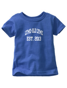 Lyme-Old Lyme Middle School Wildcats  Toddler Jersey T-Shirt