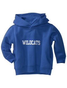 Lyme-Old Lyme Middle School Wildcats  Toddler Fleece Hooded Sweatshirt with Pockets