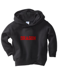 St. George's School Dragon  Toddler Fleece Hooded Sweatshirt with Pockets