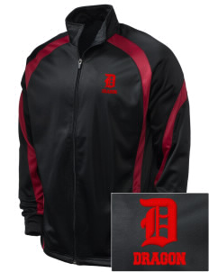 St. George's School Dragon Embroidered Holloway Men's Tricotex Warm Up Jacket