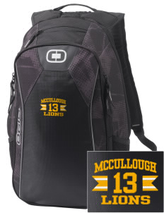 McCullough Elementary School Lions Embroidered OGIO Marshall Backpack