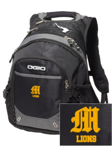 McCullough Elementary School Lions Embroidered OGIO Fugitive Backpack