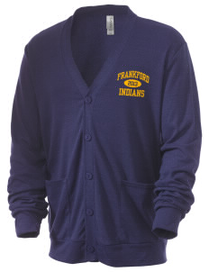 Frankford Elementary School Indians Men's 5.6 oz Triblend Cardigan