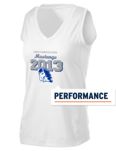 Longley Elementary School Mustangs Women's Performance Fitness Tank