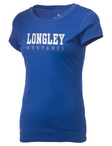 Longley Elementary School Mustangs Holloway Women's Groove T-Shirt