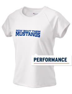 Lisbon Elementary School Mustangs Champion Women's Wicking T-Shirt