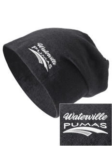 Waterville Junior High School Pumas Embroidered Slouch Beanie