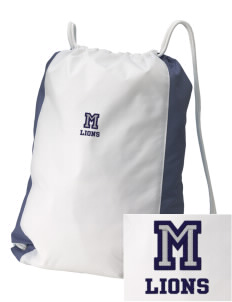 Magnolia Elementary School Lions Embroidered Holloway Home and Away Cinch Bag