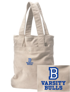 Bladensburg Elementary School Bulls Embroidered Alternative The Berkeley Tote
