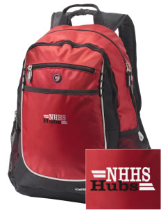 North Hagerstown High School Hubs Embroidered OGIO Carbon Backpack