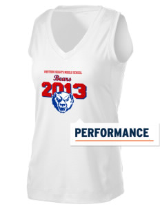 Western Heights Middle School Bears Women's Performance Fitness Tank