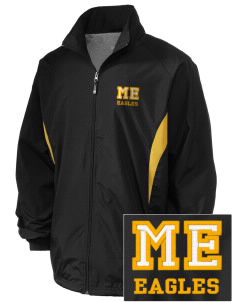 Mount Everett Regional High School Eagles Embroidered Holloway Men's Full-Zip Jacket