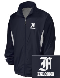 Friedman Middle School Falcons Embroidered Holloway Men's Full-Zip Jacket