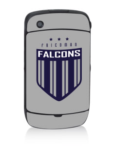 Friedman Middle School Falcons Black Berry 8530 Curve Skin