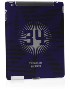 Friedman Middle School Falcons Apple iPad 2 Skin