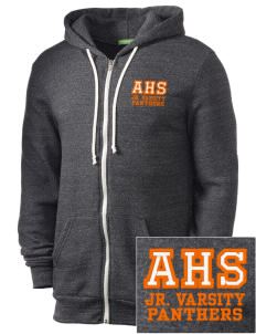 Avon Middle High School Panthers Embroidered Alternative Men's Rocky Zip Hooded Sweatshirt