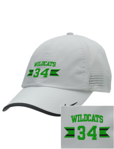 West Street Elementary School Wildcats Embroidered Nike Dri-FIT Swoosh Perforated Cap