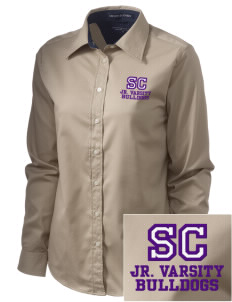 Southwest Community Campus Bulldogs  Embroidered Women's Pima Advantage Twill
