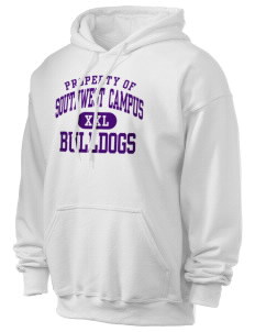 Southwest Community Campus Bulldogs Ultra Blend 50/50 Hooded Sweatshirt