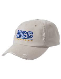 Mason County Central High School Spartans Embroidered Distressed Cap