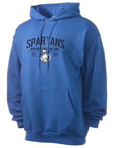 Mason County Central High School Spartans Men's 7.8 oz Lightweight Hooded Sweatshirt