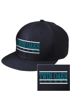 Twin Oaks High School Tiger  Embroidered New Era Flat Bill Snapback Cap