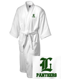 Lutheran High School Panthers Embroidered Terry Velour Robe