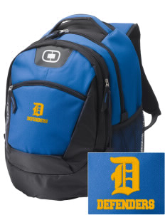 Lake Worth Christian School Defenders Embroidered OGIO Rogue Backpack