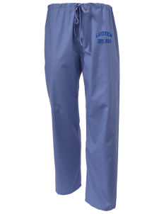 Lakeview Elementary School Leopards Scrub Pants