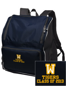 West Elementary School Tigers Embroidered Holloway Backpack