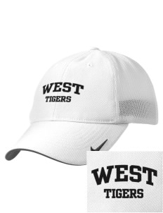 West Elementary School Tigers Embroidered Nike Golf Mesh Back Cap