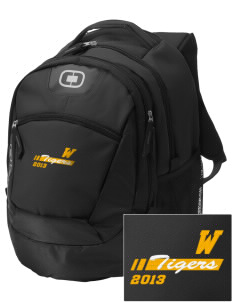 West Elementary School Tigers Embroidered OGIO Rogue Backpack