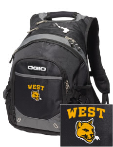 West Elementary School Tigers Embroidered OGIO Fugitive Backpack