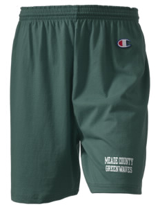 "Meade County High School Greenwaves  Champion Women's Gym Shorts, 6"" Inseam"