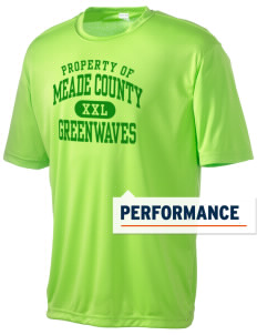 Meade County High School Greenwaves Men's Competitor Performance T-Shirt