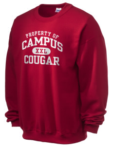 campus community school cougar Ultra Blend 50/50 Crewneck Sweatshirt