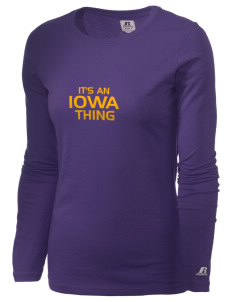 Iowa High School Yellow Jackets  Russell Women's Long Sleeve Campus T-Shirt