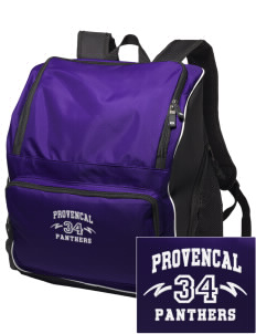 Provencal Elementary School Panthers Embroidered Holloway Backpack