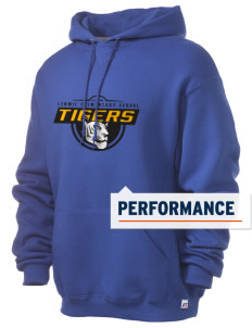 Lenwil Elementary School Tigers Russell Men's Dri-Power Hooded Sweatshirt