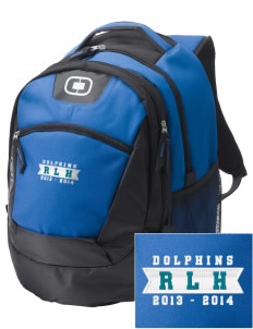 Robert L. Horbelt Dolphins Embroidered OGIO Rogue Backpack