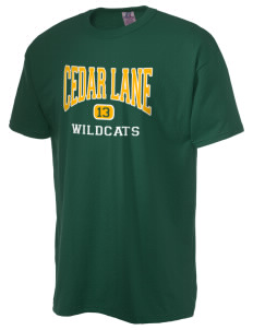 Cedar Lane Elementary School Wildcats  Russell Men's NuBlend T-Shirt