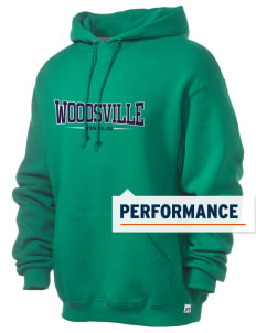 Woodsville Elementary School Owls Russell Men's Dri-Power Hooded Sweatshirt